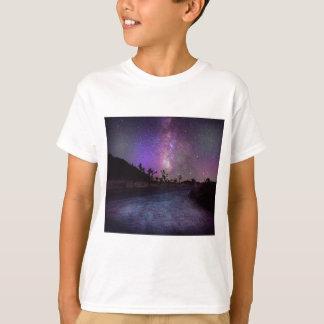 Camiseta Via Láctea do parque nacional de árvore de Joshua