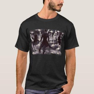 Camiseta Viagem aérea (escura)