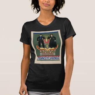 Camiseta Viagem de Pensilvânia do vintage