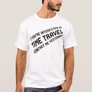 Camiseta Viagem do tempo