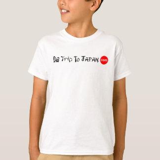 Camiseta Viagem grande ao t-shirt Tag-livre dos miúdos de