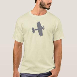 Camiseta Viagem invertida - biplano