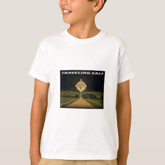 Camiseta Viagem para o leste