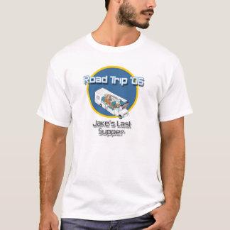 Camiseta Viagem por estrada '06: A última ceia de Jake