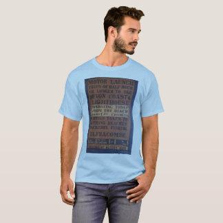 Camiseta Viagens do barco do lançamento de Ilfracombe