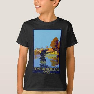 Camiseta Viagens vintage Fontainebleau Paris France