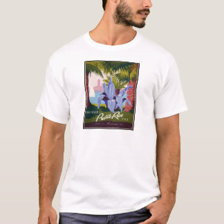 Camiseta Viagens vintage Puerto Rico