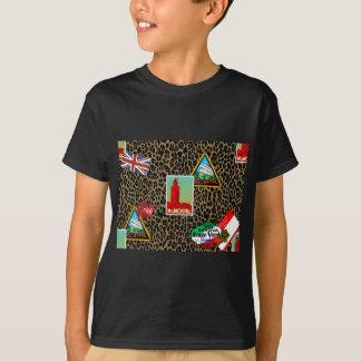 Camiseta viajante de mundo