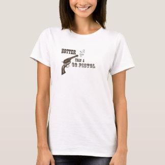 Camiseta Vibre do que uma pistola $2