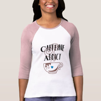 Camiseta Viciado de cafeína