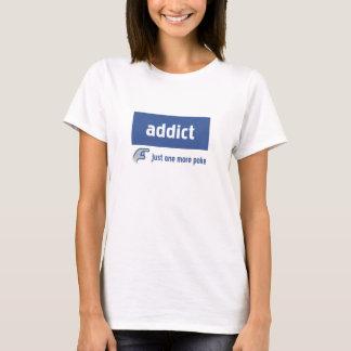 Camiseta Viciado de Facebook