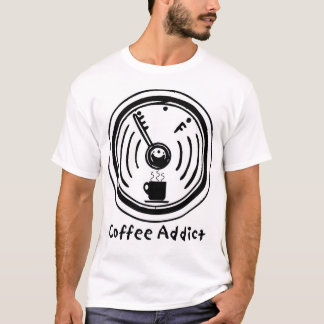 Camiseta Viciado do café