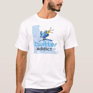 Camiseta viciado do twitter