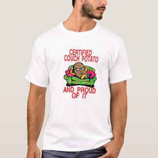 Camiseta Viciado em televisão