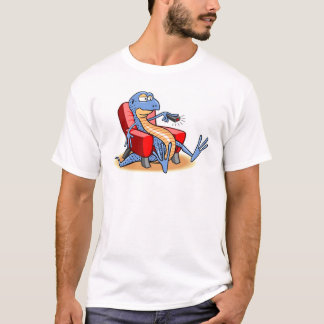 Camiseta Viciado em televisão do geco