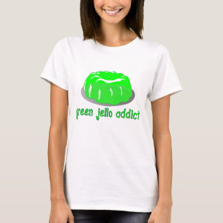 Camiseta Viciado verde de Jello