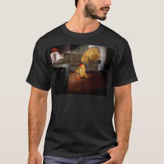 Camiseta Viciados em televisão pai & filho