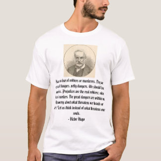 Camiseta Victor Hugo, não tem nenhum medo dos ladrões ou do