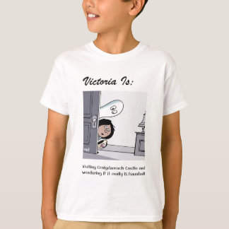 Camiseta Victoria é: a - por Harrop