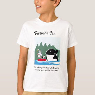 Camiseta Victoria é: b - pelo harrop