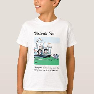Camiseta Victoria é: c - pelo harrop