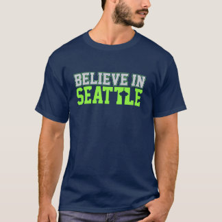 "Camiseta VICTRS ""acreditam em Seattle """