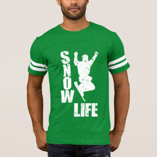 Camiseta VIDA #3 da NEVE (branca)