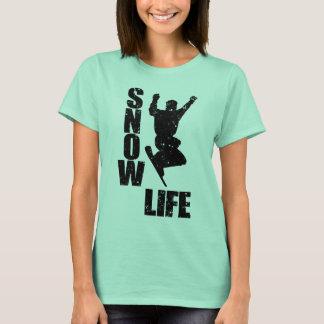 Camiseta VIDA #3 da NEVE (preto)
