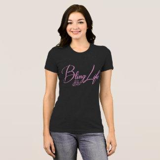 Camiseta Vida Bella de Bling+T-shirt favorito do jérsei das