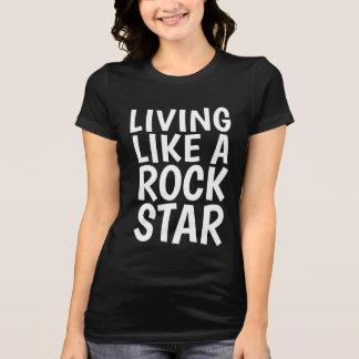 Camiseta VIDA COMO t-shirt das camisolas de uma ESTRELA DO