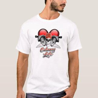 Camiseta Vida culinária do coração: Cozinheiro chefe
