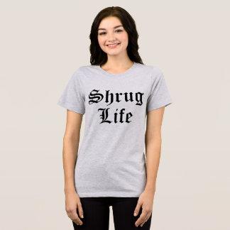 Camiseta Vida da encolho de ombros do t-shirt de Tumblr