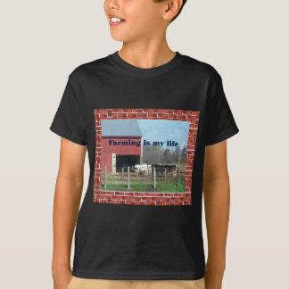 Camiseta vida da fazenda
