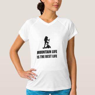 Camiseta Vida da vida da montanha a melhor