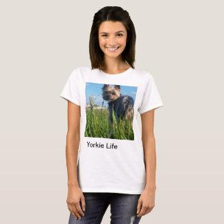 Camiseta Vida de Yorkie: fora T