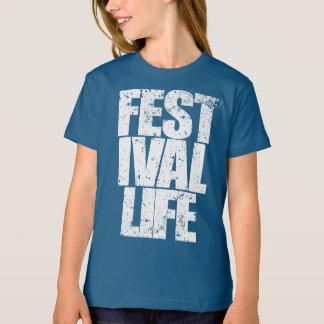 Camiseta VIDA do FESTIVAL (branca)