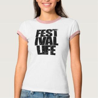 Camiseta VIDA do FESTIVAL (preto)
