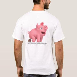 Camiseta Vida do porco