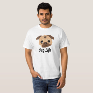 Camiseta Vida do Pug