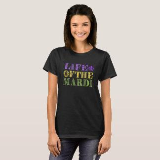 Camiseta Vida engraçada do Mardi (Gras)
