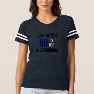 Camiseta Vida legal após o t-shirt irónico do aniversário