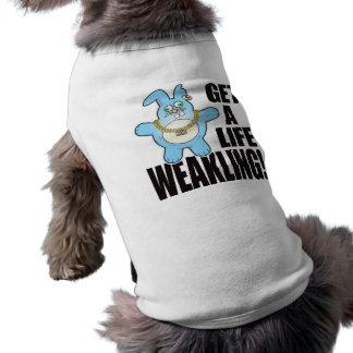 Camiseta Vida má do bolo do Weakling