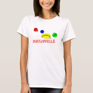 Camiseta Vida-Nashville maravilhoso