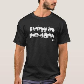 Camiseta Vida no t-shirt do preto do traço