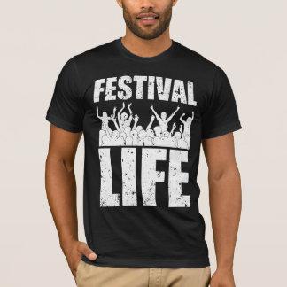 Camiseta VIDA nova do FESTIVAL (branca)