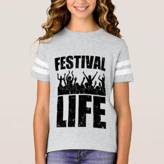 Camiseta VIDA nova do FESTIVAL (preto)