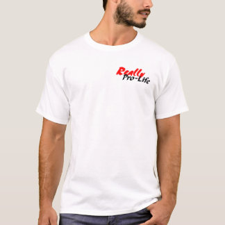 Camiseta Vida realmente pro