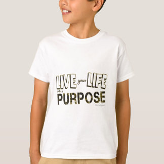 Camiseta Vida sua vida com uma finalidade