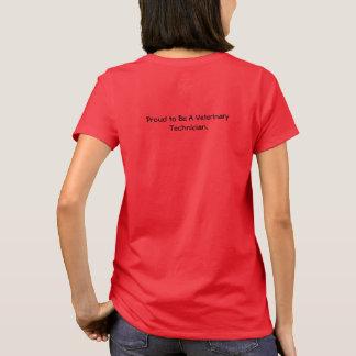 Camiseta Vidas das economias do técnico veterinário