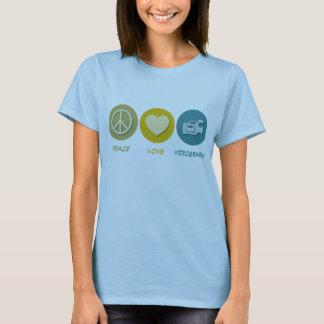 Camiseta Videografia do amor da paz